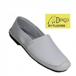 Dingo - 610 - Mocassin - Blanc