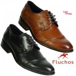 Fluchos - 9027 - Derby - Noir